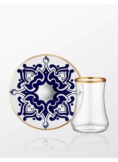 Dervish Cini Karanfil Çay Seti 6lı-Koleksiyon